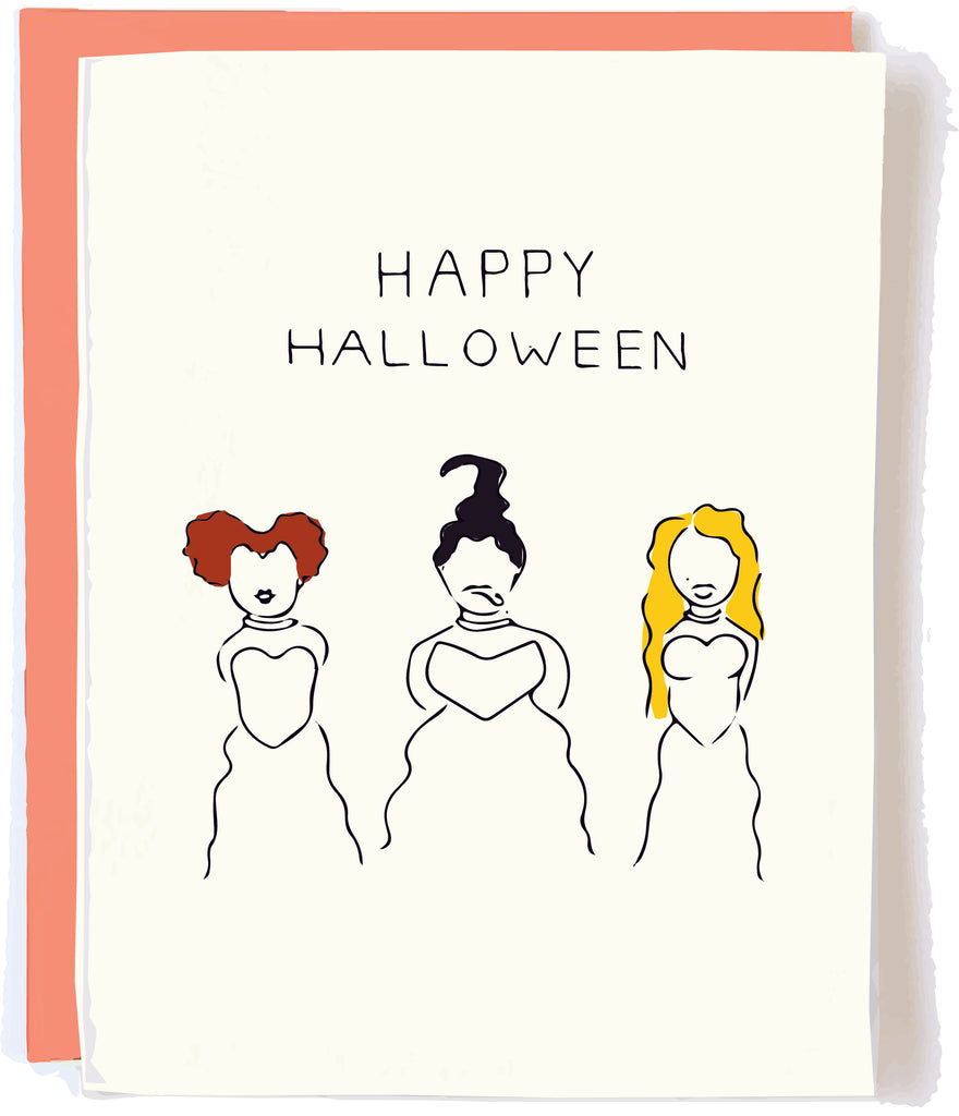 Hocus Pocus Card by Pop and Paper