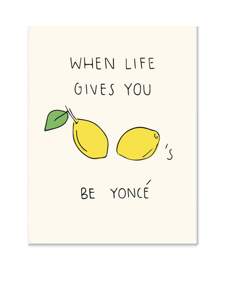 Beyonce Lemonade Art Print by Chalkscribe