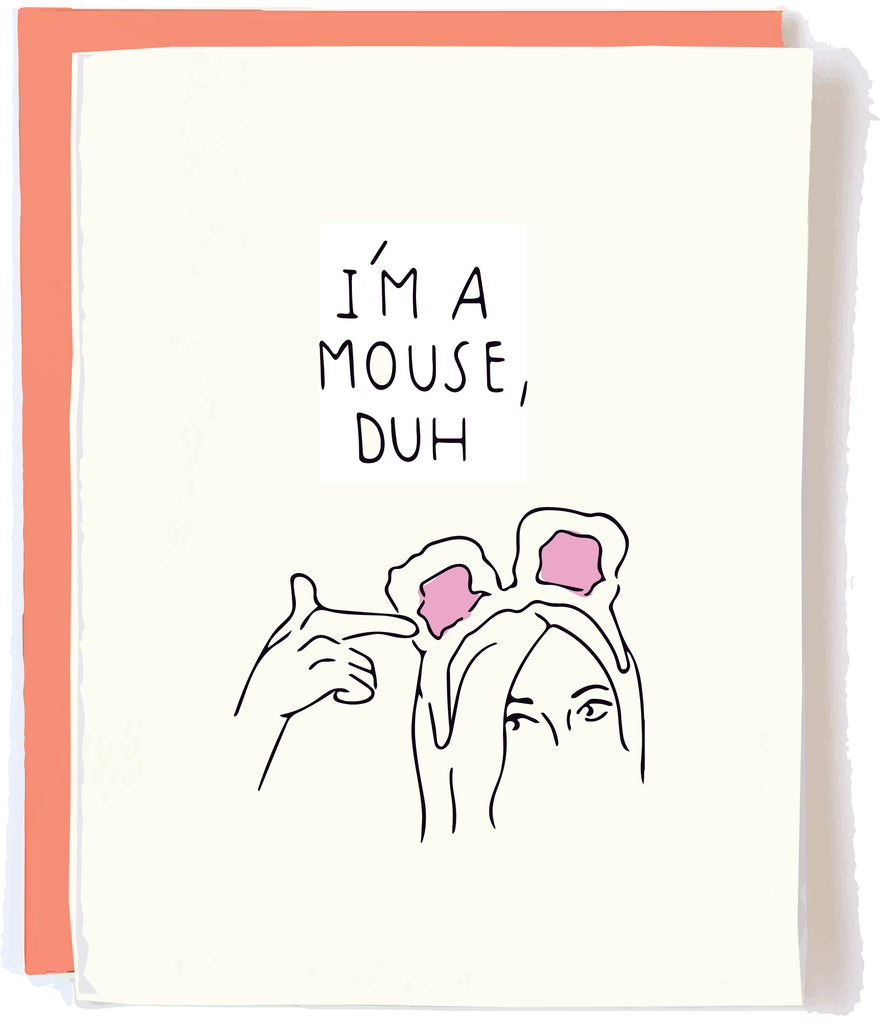 Mouse Duh Halloween Card by Pop and Paper