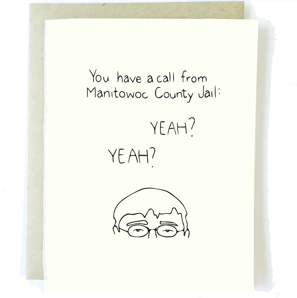 Making a Murderer Card by Chalkscribe
