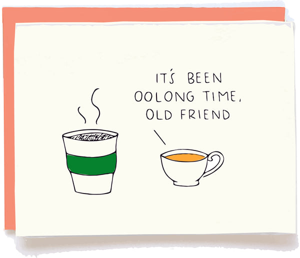 Been Oolong Time Card by Chalkscribe