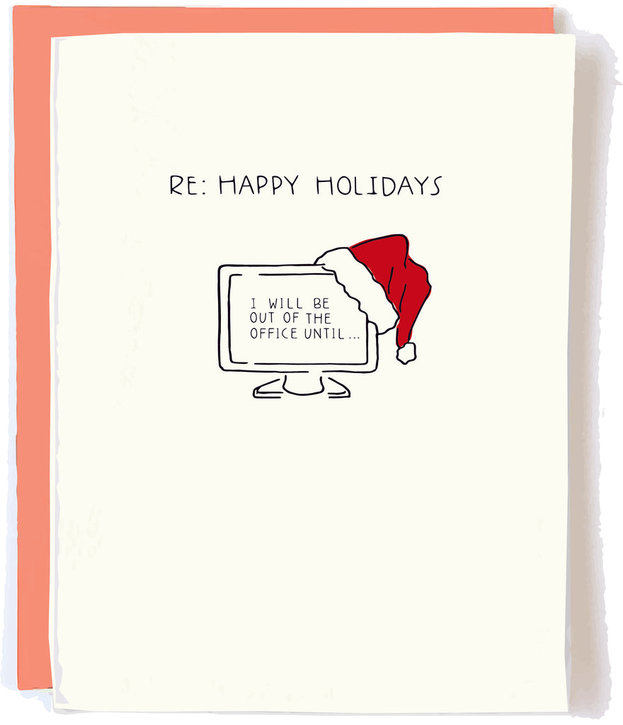 Office Holiday Co Worker Card by Pop + Paper