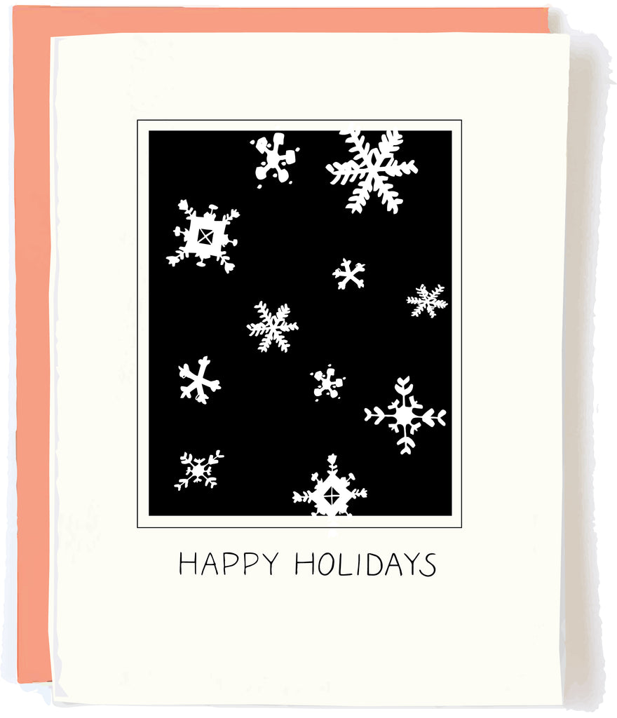 Happy Holidays Greeting Card by Pop and Paper