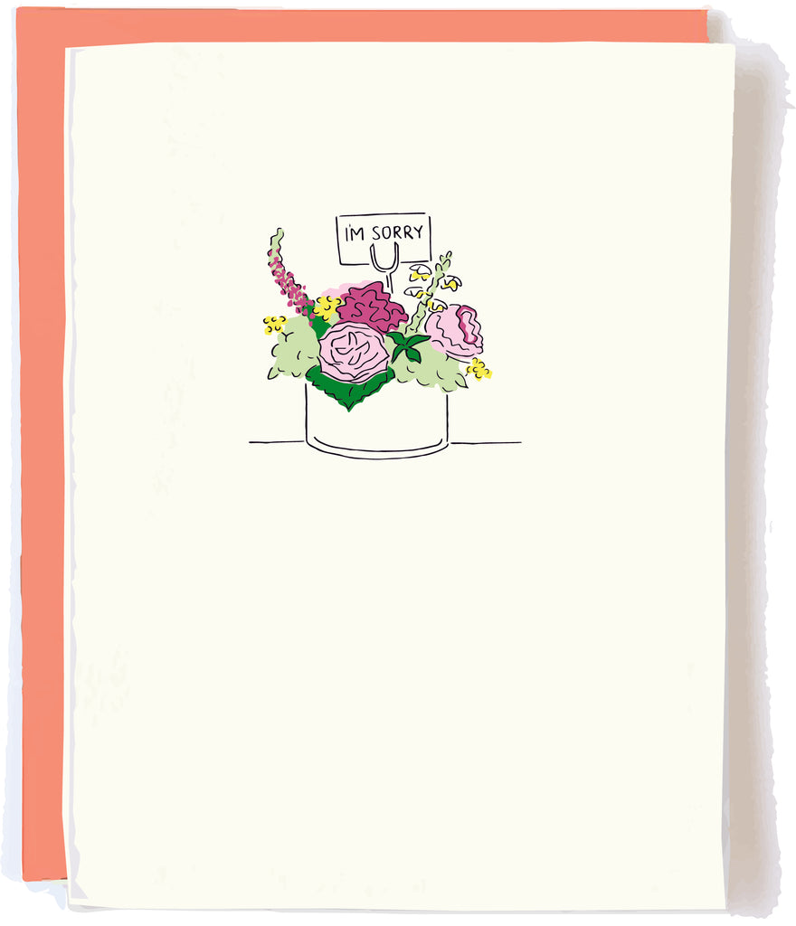 I'm Sorry Sympathy Card by Pop + Paper
