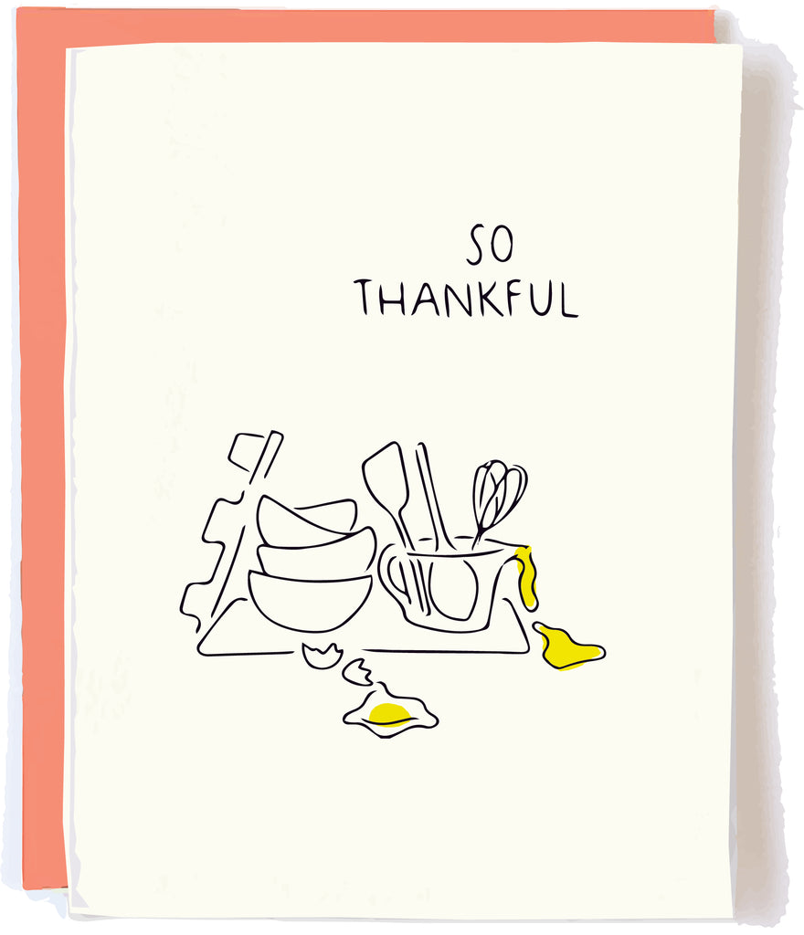 Funny Thanksgiving Card by Pop + Paper
