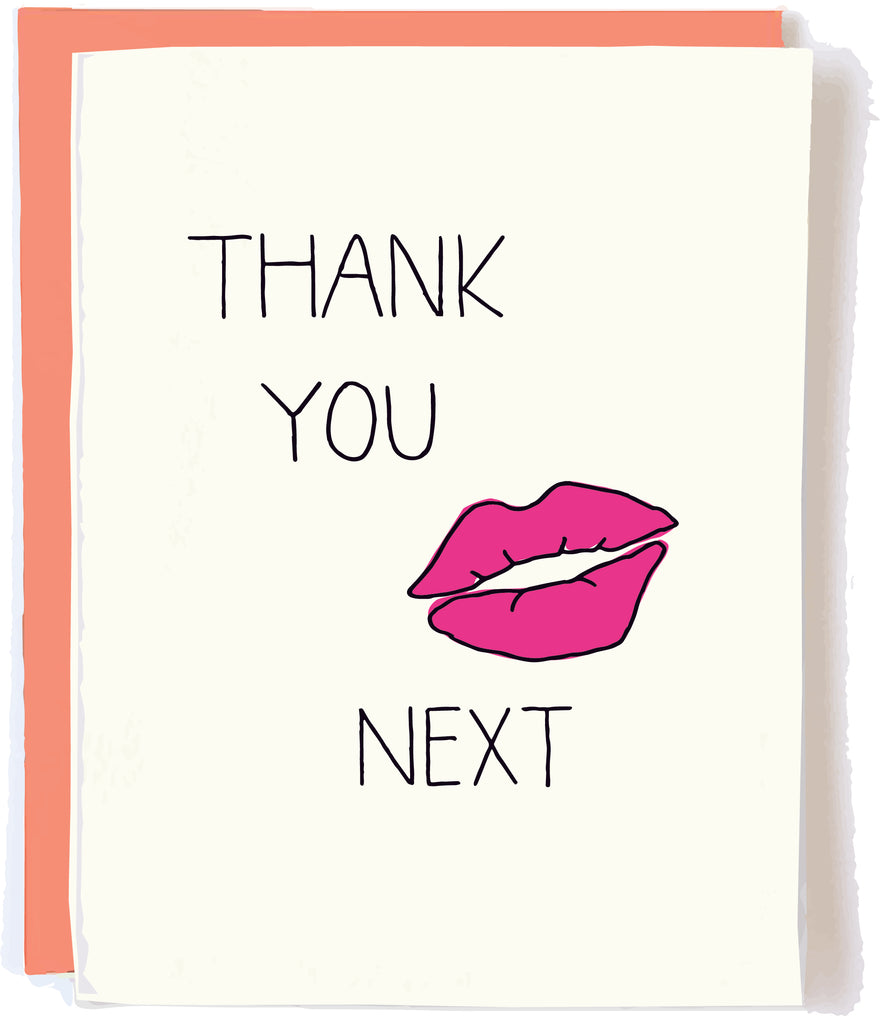 Thank You Next Ariana Card by Pop + Paper