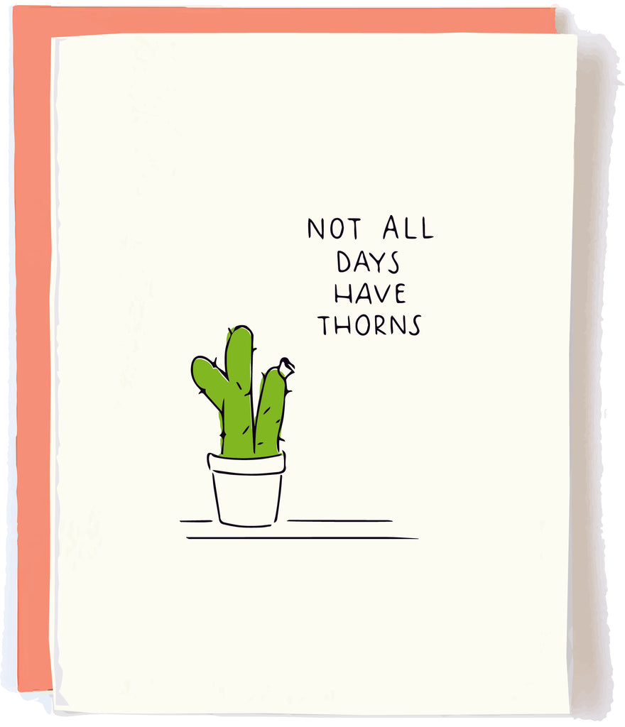 Cactus Sympathy Card by pop and paper