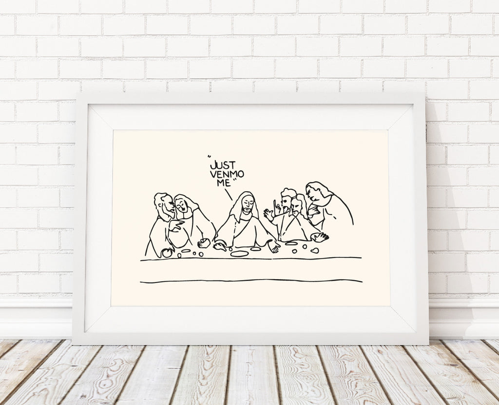 Venmo Me Art Print by Chalkscribe