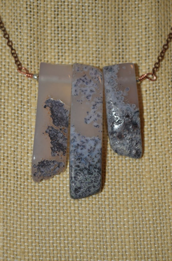 The Multiple Agate Necklace...many varieties