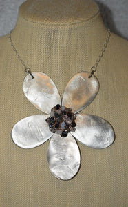 Vintage Spoon Flower Necklace