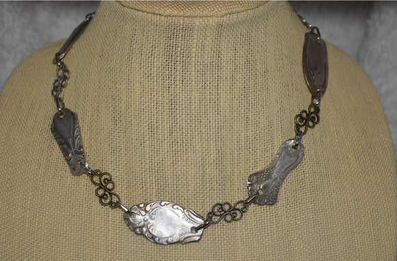 Vintage Multi-Handle Necklace...multiple styles