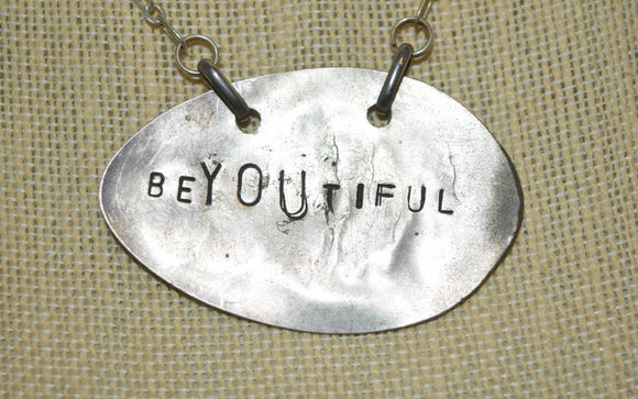 Personalized Stamped Spoon Necklace...many varieties