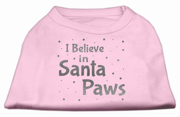 I Believe in Santa Paws -Christmas, Holiday - Pet Shirt - Made in USA - Gift