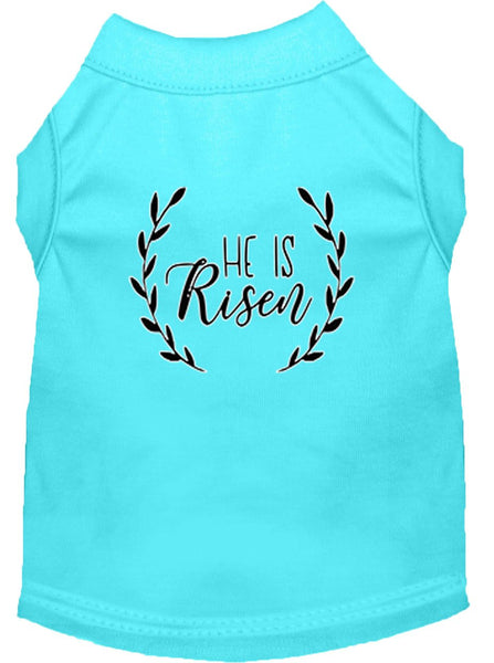 He is Risen - Christian - Christmas themed  Pet  Shirt – Made in USA