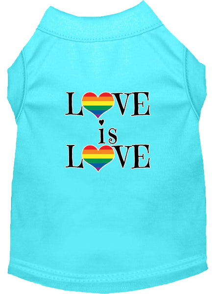Love is Love - popular themed holiday - Gift Pet  Shirt – Made in USA
