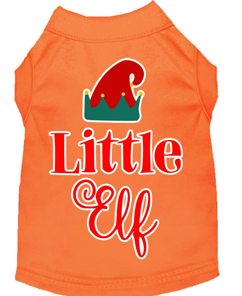 Little Elf -  Christmas – Holiday Pet, Dog, Cat  Shirt – Made in USA- Gift