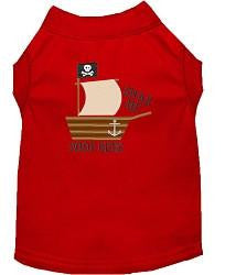 Poop Deck- Mirage Embroidered Dog Shirt - Made in USA