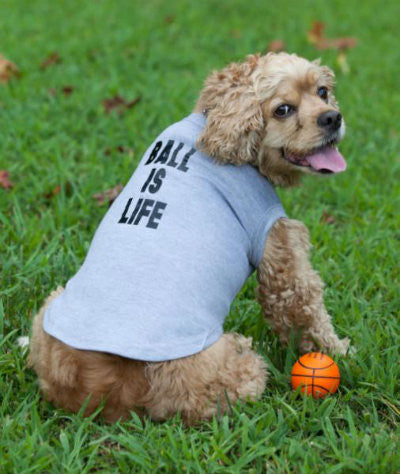 Ball is Life Doggie Tee - Hip Puppy sleeveless dog shirt - gift