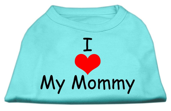 I Love My Mommy - Pet, Dog, Cat apparel - clothing – Gift -Made in USA