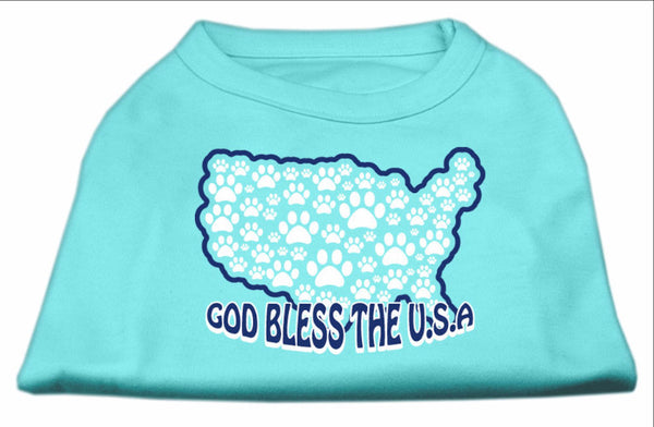 God Bless USA - classic statement dog shirt - Made USA