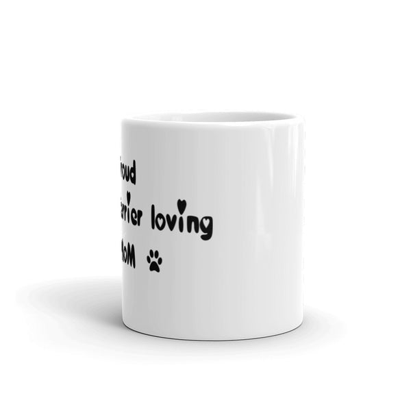 Proud Boston Terrier loving Mom  - Mug