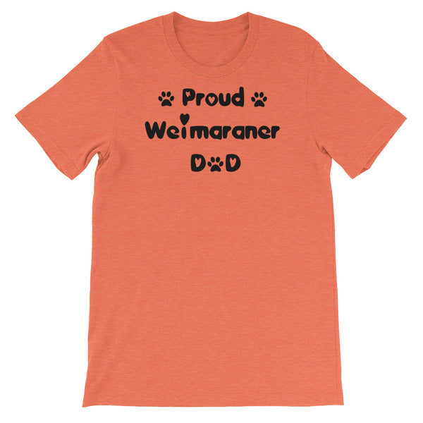 Proud Weimaraner Dad - T shirt