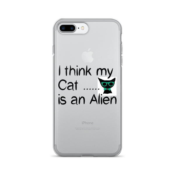 Crazy Cat saying - Pet themed - Cat lover iPhone 7/7 Plus Case - gift