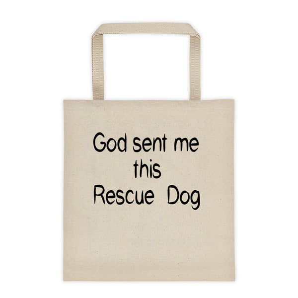 Rescue Dog lover gift - rescue pet themed Tote bag