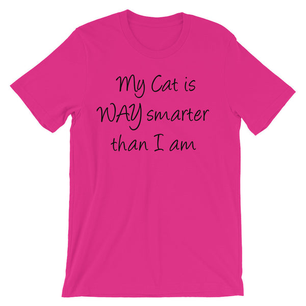 Cute, unique funny cat lover T shirt - pet themed gift apparel