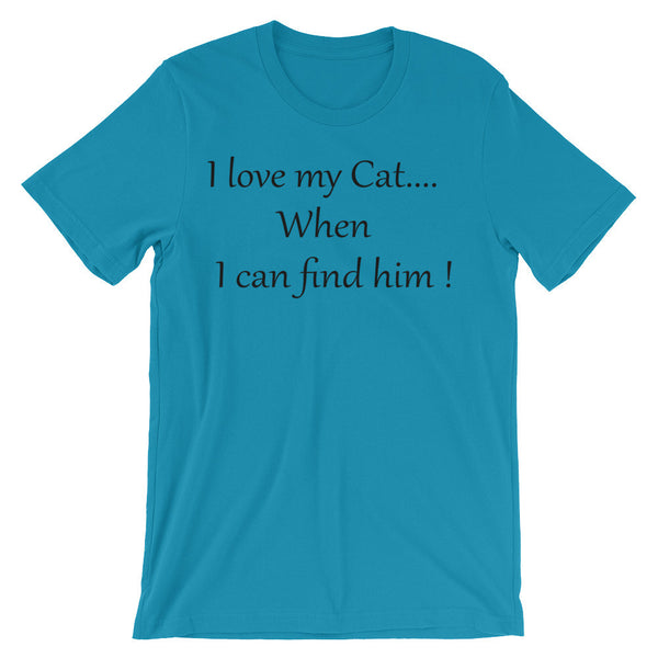 Funny cat saying shirt - 100% ring-spun cotton