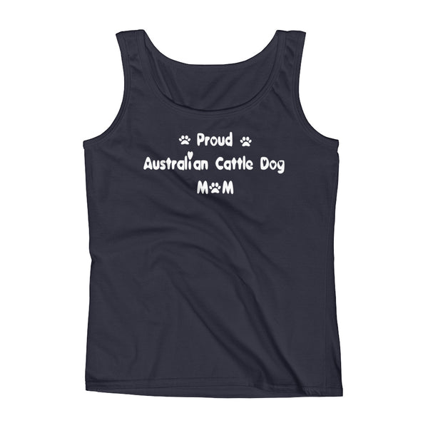 Proud Australian Cattle Dog Mom - dog themed Tank top
