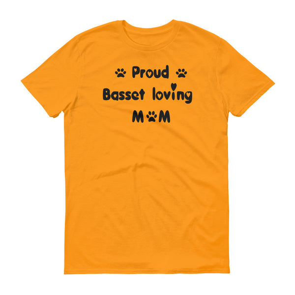 Basset loving dog saying - T shirt