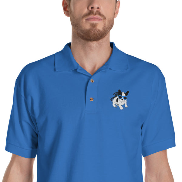 Original Hip Puppy logo - pet themed Polo Embroidered shirt
