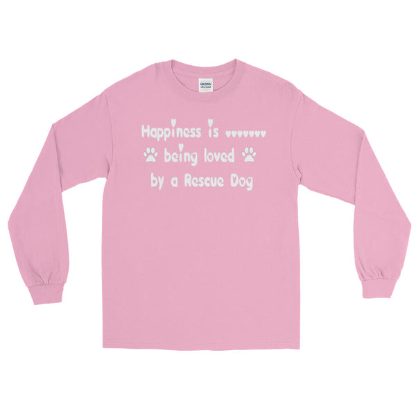 Rescue pet lover  gift- long  sleeve T