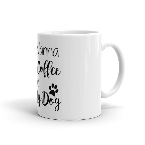 Pet themed Dog lover gift - dog themed coffee mug - cup