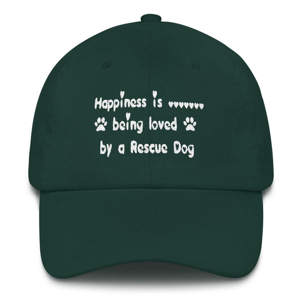 Unique popular Rescue Pet themed, Dog themed baseball cap - hat