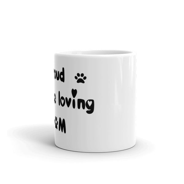 Proud Maltese loving MoM - Mug