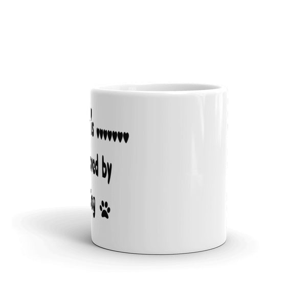 Dog lover gift - coffee mug