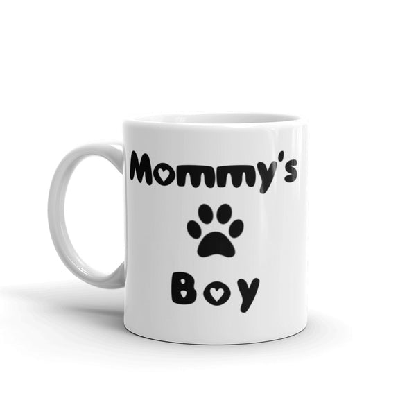 Mommy's Boy - Ceramic Mug - Pet themed coffee mug