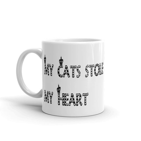 Funny cat saying mug - sturdy white, glossy ceramic