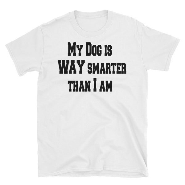 Stupid is as stupid says - quality , low costDog themed T shirt