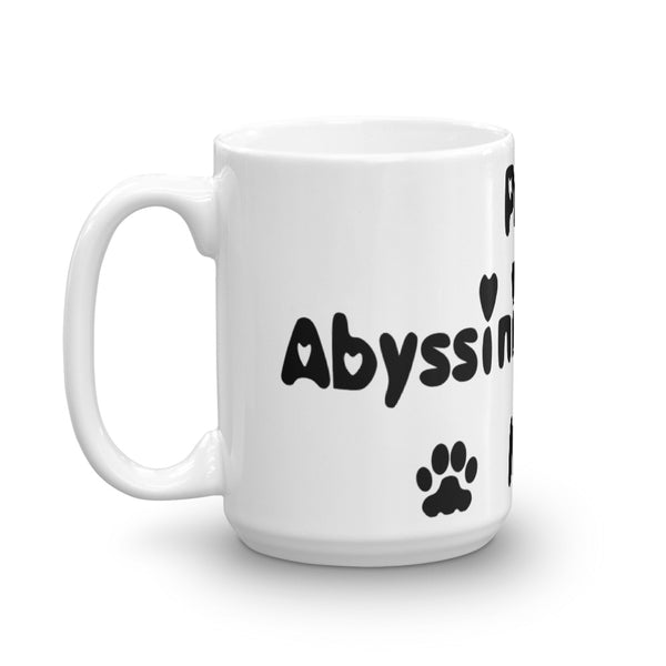 Proud Abyssinian loving Mom - Mug