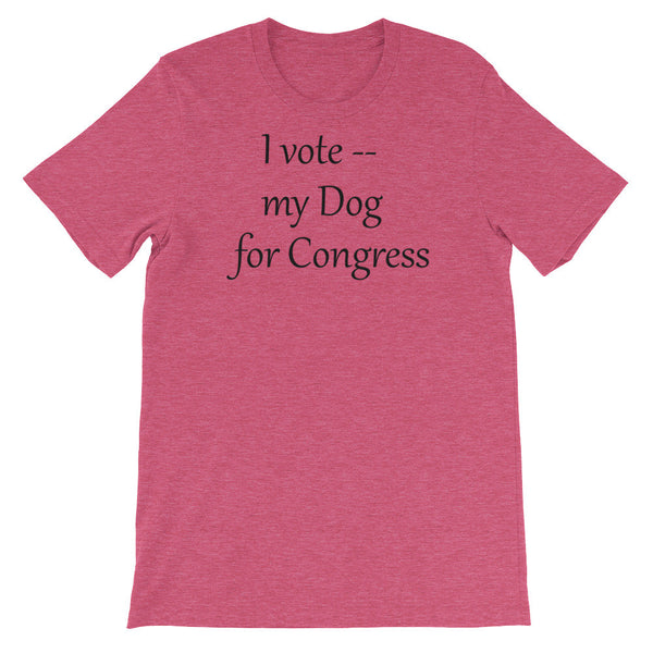 I vote my Dog for Congress - Unisex - Baby-knit jersey