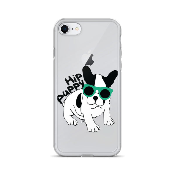 iphone 7/8 case -Hip Puppy logo - pet themed logo