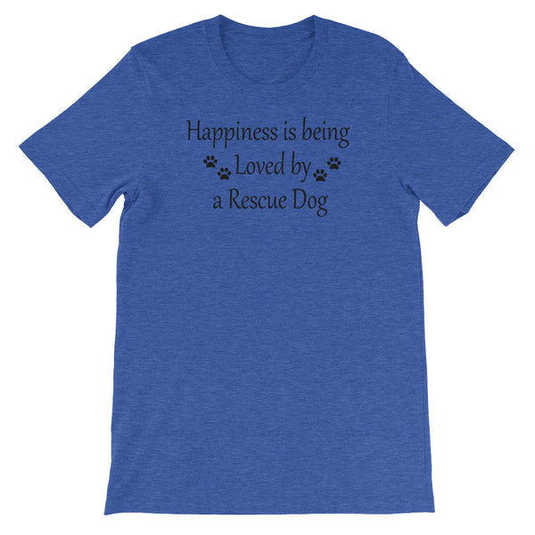 Rescue Dog lover gift - Blue shirt