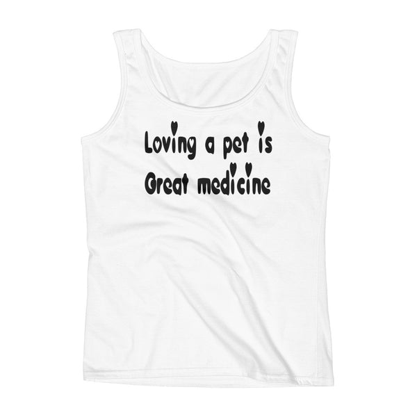 Loving a Pet - High quality, low cost pet themed Tank Top - gift