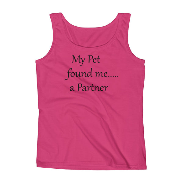 cute pet  LBGTU  saying  Tank top