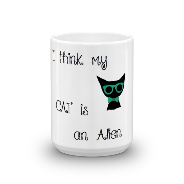 Unique cute pet themed cat lover coffee mug - gift
