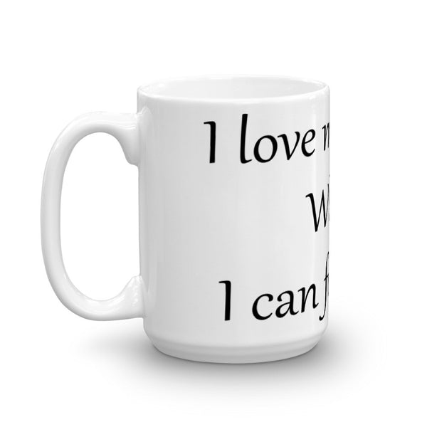 Cute, funny, unique cat, pet themed coffee mug cup - cat lover gift