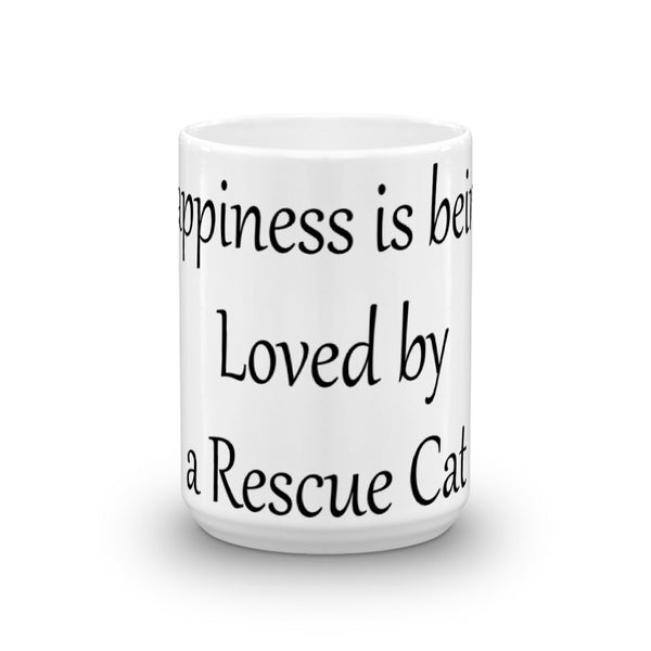 Wonderful rescue cat themed - pet themed coffee mug - cup